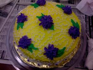 A beautiful cake and a beautiful life.
